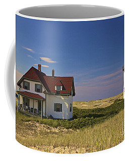 Race Point Lighthouse In Summer Coffee Mug by Amazing Jules