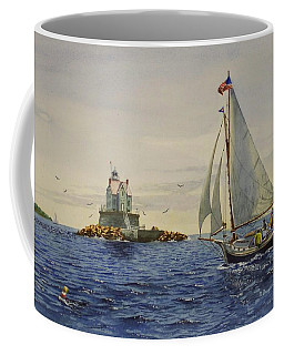 Race Rock Light To The Windward Coffee Mug