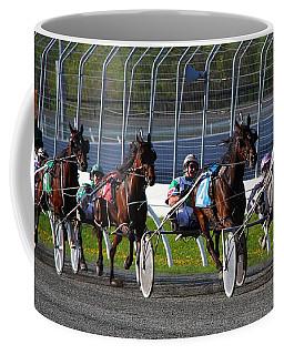Race To The Finish Coffee Mug