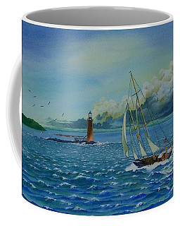 Racing Ahead Of The Storm Coffee Mug
