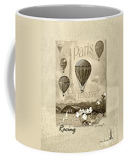 Racing In Sepia Coffee Mug