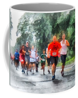 Racing In The Rain Coffee Mug