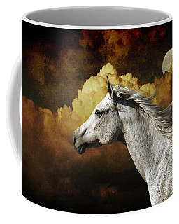 Racing The Moon Coffee Mug