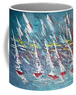 Racing To The Limits - Sold Coffee Mug