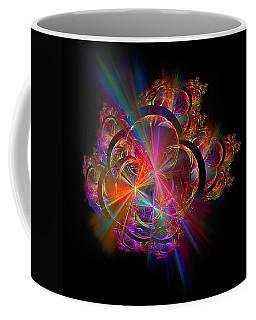 Radiant Rings Coffee Mug