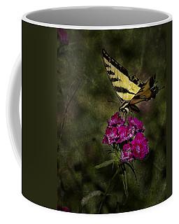 Coffee Mug featuring the photograph Ragged Wings by Belinda Greb