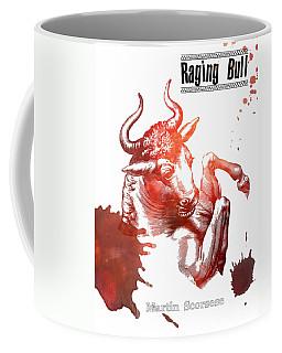 Raging Bull Martin Scorsese Film Poster Coffee Mug