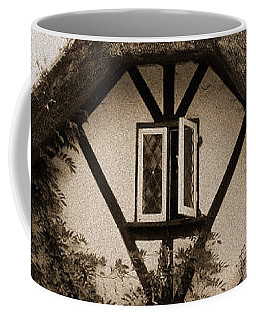 Rags Corner Cottage Nether Wallop Olde Sepia Coffee Mug