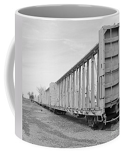 Rail Cars Coffee Mug
