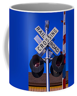 Railroad Crossing Coffee Mug