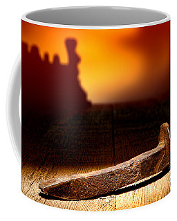 Railroad Spike Coffee Mug