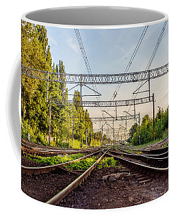Railway To Nowhere Coffee Mug