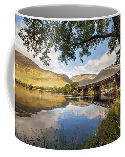Railway Viaduct Over River Orchy Coffee Mug