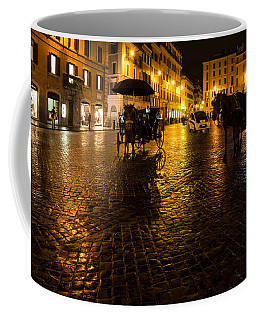 Rain Chased The Tourists Away... Coffee Mug by Georgia Mizuleva