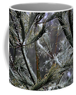 Rain On Pine Needles Coffee Mug
