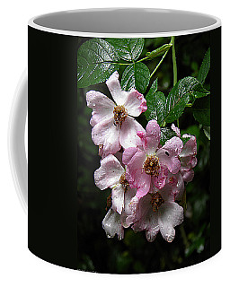 Rain Soaked Rose Coffee Mug