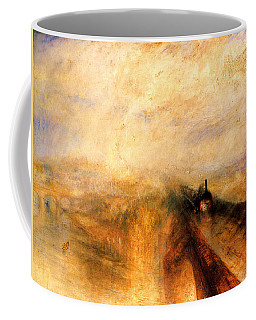 Rain Steam And Speed.  Coffee Mug