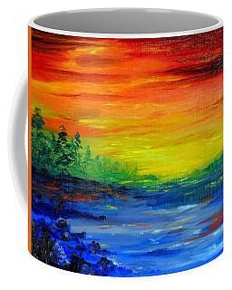 Rainbow Back Waters Coffee Mug