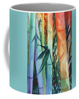 Rainbow Bamboo 2 Coffee Mug by Marionette Taboniar