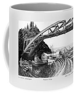 Rainbow Bridge La Connor W A Coffee Mug