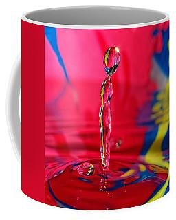 Coffee Mug featuring the photograph Rainbow Drop by Peter Lakomy