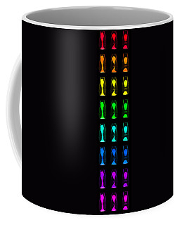 Rainbow Lava Lamps Coffee Mug