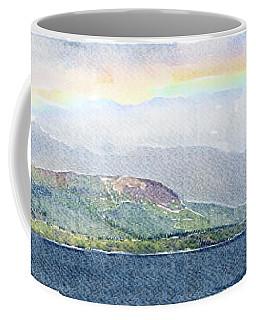Rainbow Over The Isle Of Arran Coffee Mug