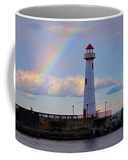 Rainbow Over Watwatam Light Coffee Mug