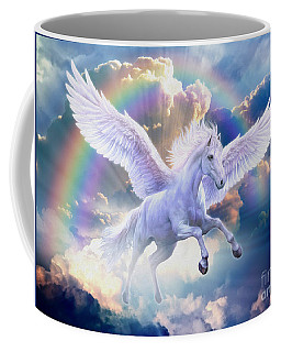 Rainbow Pegasus Coffee Mug