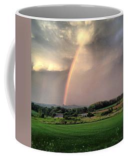 Rainbow Poured Down Coffee Mug