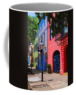 Rainbow Row Charleston Coffee Mug