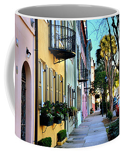 Rainbow Row Hdr Coffee Mug