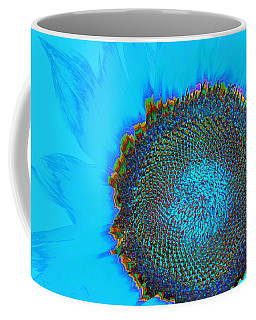 Rainbow Sunflower Coffee Mug