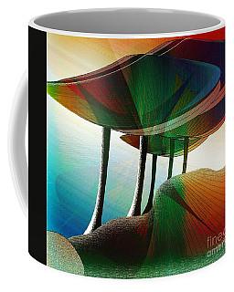 Rainbow Trees Coffee Mug