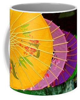 Coffee Mug featuring the photograph New Orleans Rainbowellas by Michael Hoard