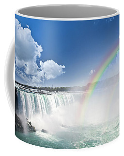 Rainbows At Niagara Falls Coffee Mug