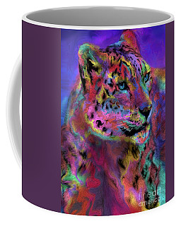 Rainbows Snow Leopard Coffee Mug