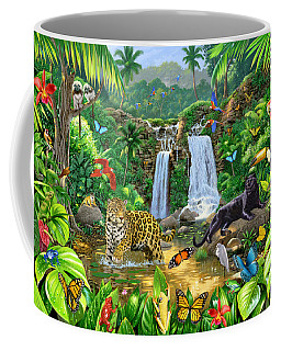 Rainforest Harmony Variant 1 Coffee Mug