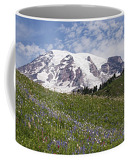 Rainier's Wildflowers Coffee Mug