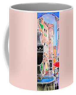Raining In St-paul De Vence Coffee Mug