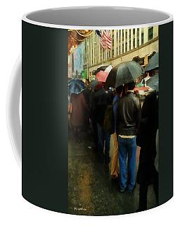 Rainy Afternoon On Broadway Coffee Mug