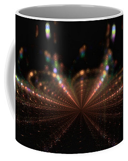 Rainy City Night Coffee Mug by GJ Blackman