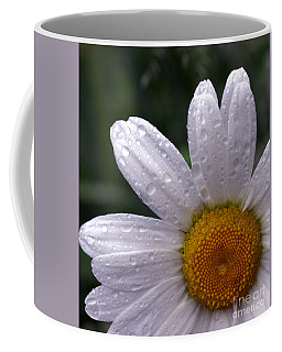Rainy Day Daisy Coffee Mug by Kevin Fortier