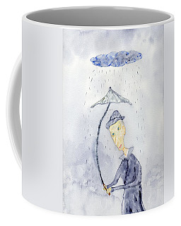Rainy Day Man Coffee Mug