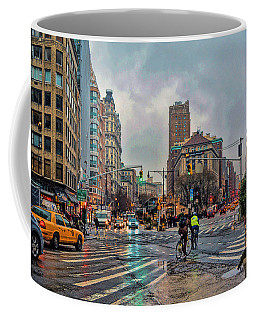 X-ing Broadway Coffee Mug