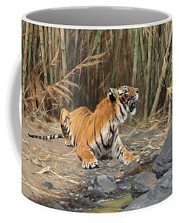Raising His Voice Coffee Mug