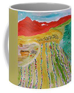Raising Tomatoes On North Point Coffee Mug by Mary Carol Williams