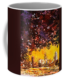 Raleigh Downtown Coffee Mug by Ryan Fox