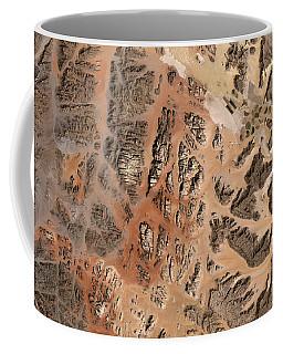 Ram Desert Transjordanian Plateau Jordan Coffee Mug