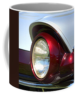 Ranch Wagon Headlight Coffee Mug by Dean Ferreira